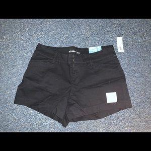 Black 3.5 inch shorts